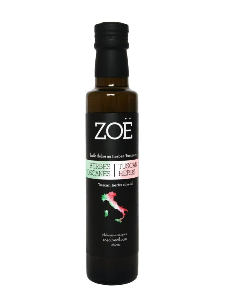 TUSCAN HERBS INFUSED OLIVE OIL 250ML