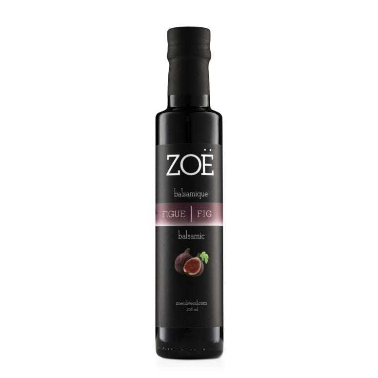 ZOE VINAIGRE BALSAMIQUE INFUSÉ À LA FIGUE | ZOE FIG INFUSED BALSAMIC VINEGAR