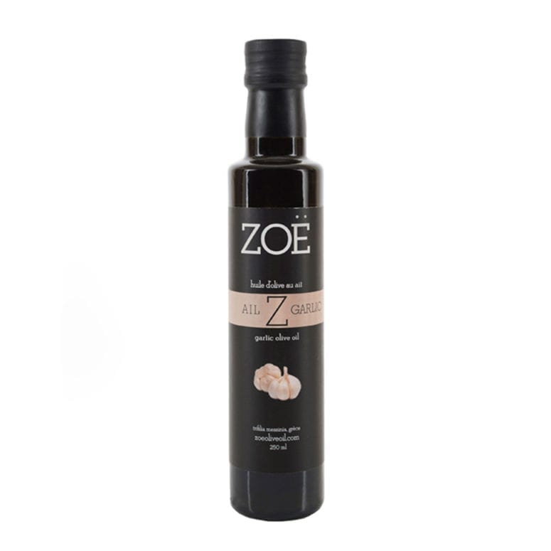 ZOE HUILE D'OLIVE INFUSÉE À L'AIL | ZOE GARLIC INFUSED OLIVE OIL