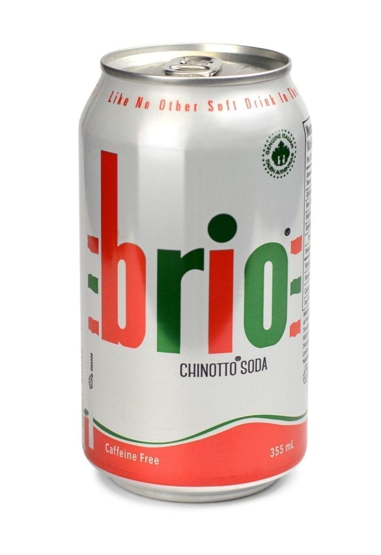 Brio Chinotto Carbonated Soft Drink – 355ml