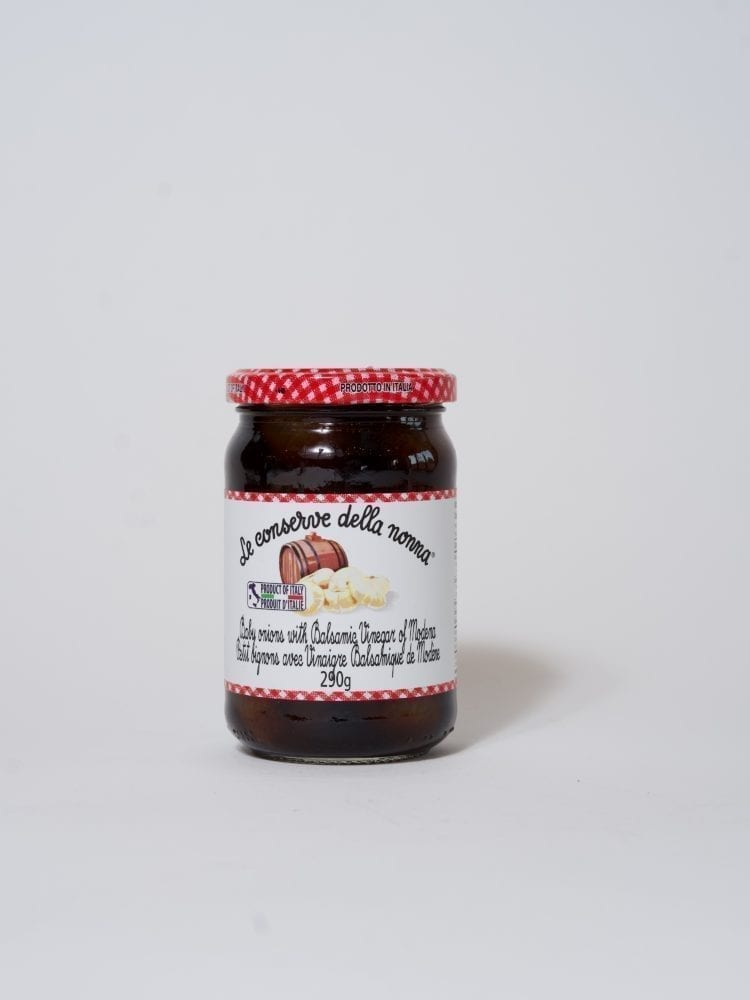 NONNA BABY ONIONS WITH BALSAMIC VINEGAR OF MODENA - 290g