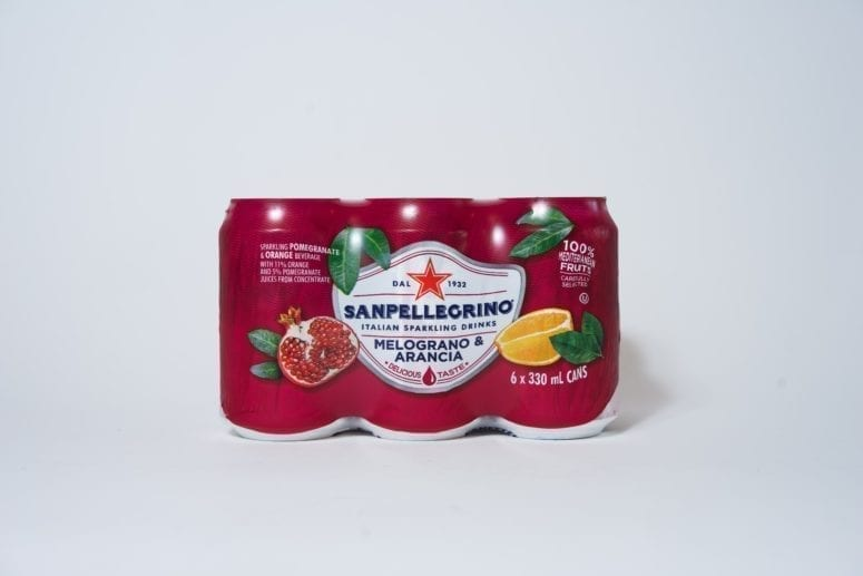 San Pellegrino Pomegranate & Orange 6 x 330ml