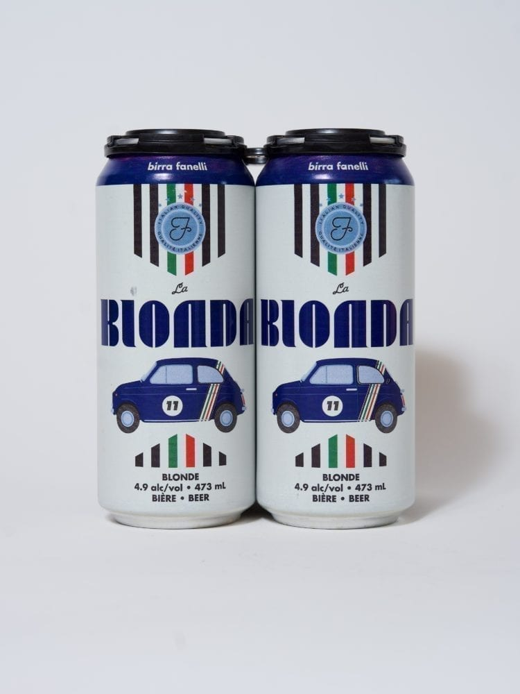 FANELLI BIERE BLONDE - 4.9% - 4 X 473ml