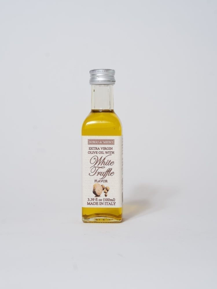 EXTRA VIRGIN OLIVE OIL WITH WHITE TRUFFLE FLAVOR 100ML