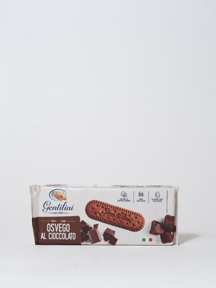 GENTILINI - COOKIES COVERED IN CHOCOLATE - 250g