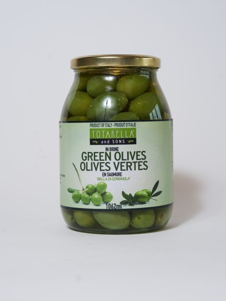TOTARELLA GREEN OLIVES - 1062ML