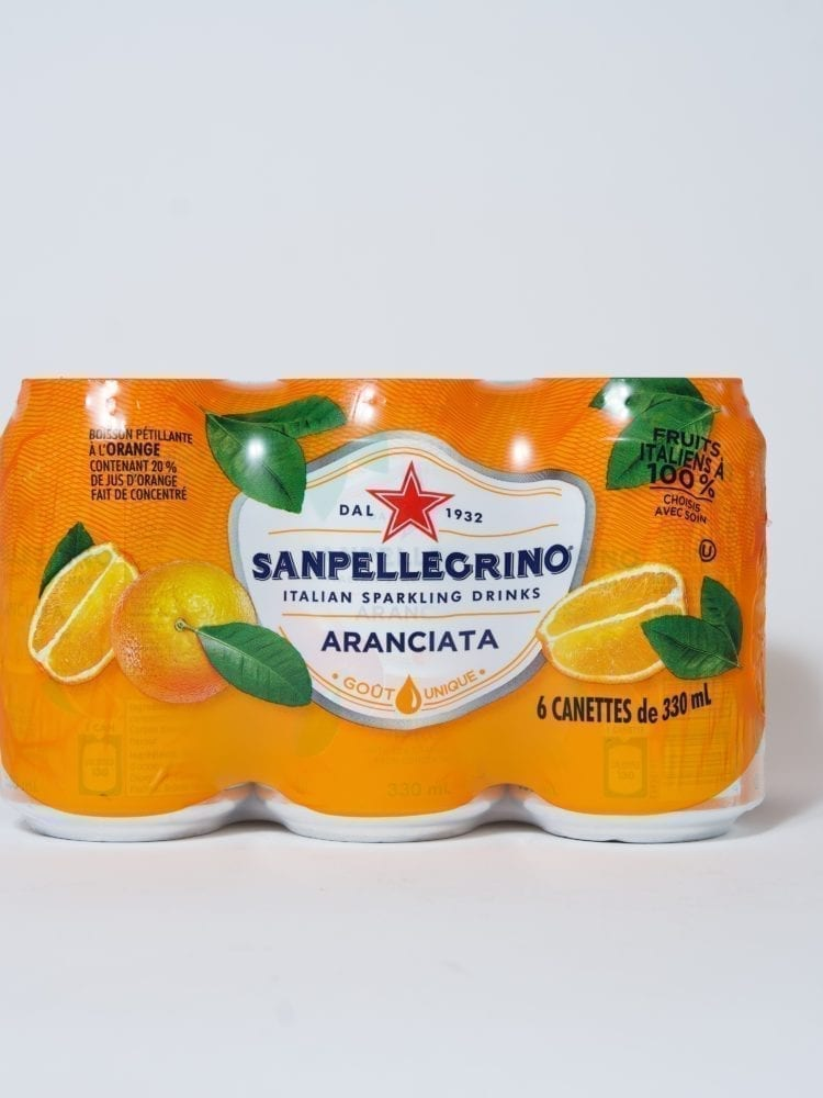 SAN PELLEGRINO ORANGE – 6 x 330ml