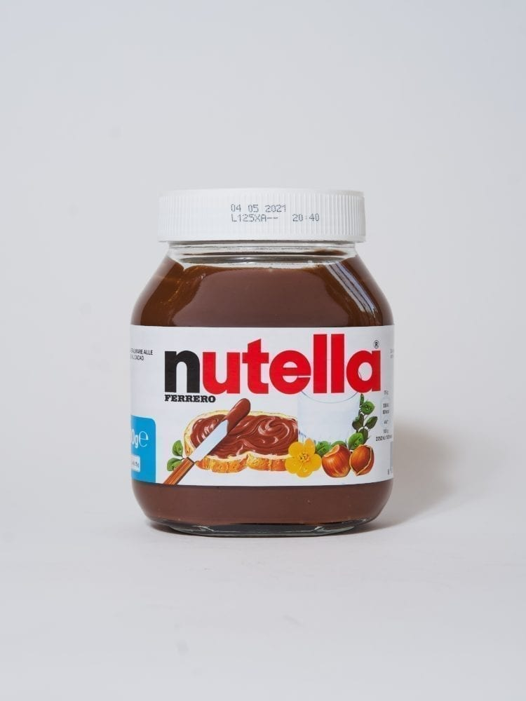 NUTELLA MADE IN ITALY - GLASS JAR - 600g