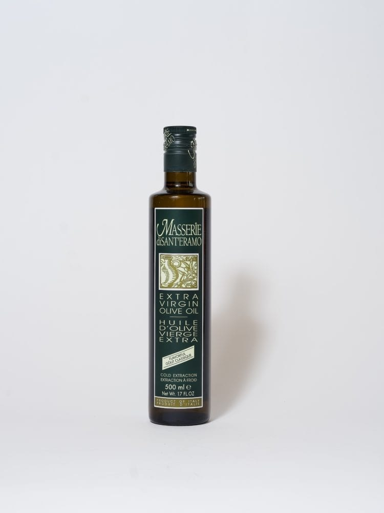 MASSERIE DISANTERAMO - EXTRA VIRGIN OIL - FLAVORFUL - 500ml