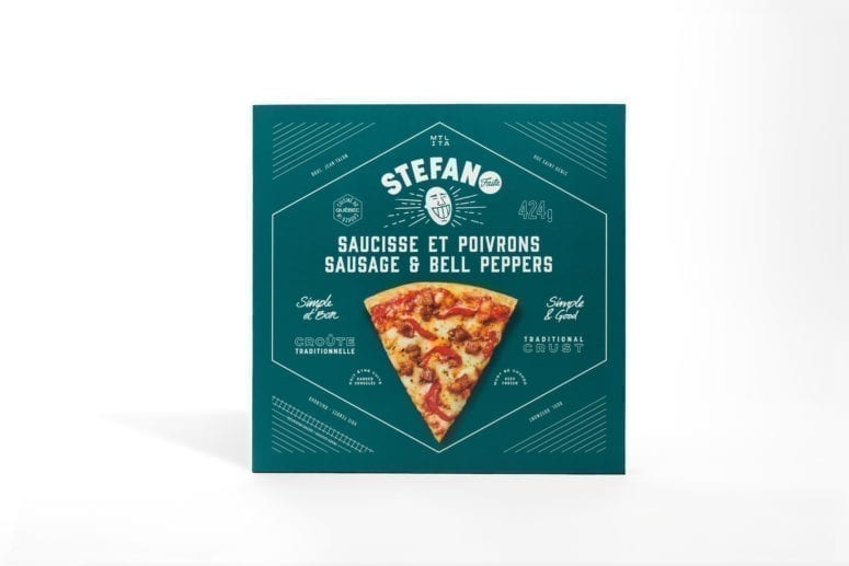 """TRADITIONAL CRUST SAUSAGE & BELL PEPPERS 10"""" 424g"""