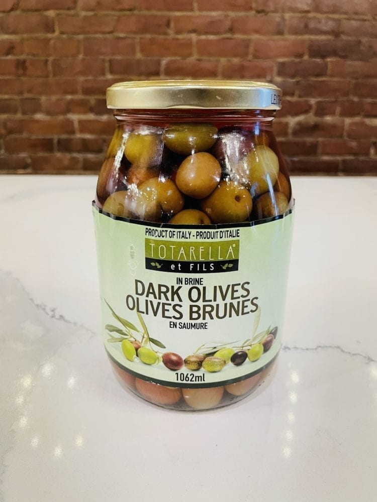 TOTARELLA OLIVES BRUNES | DARK OLIVES