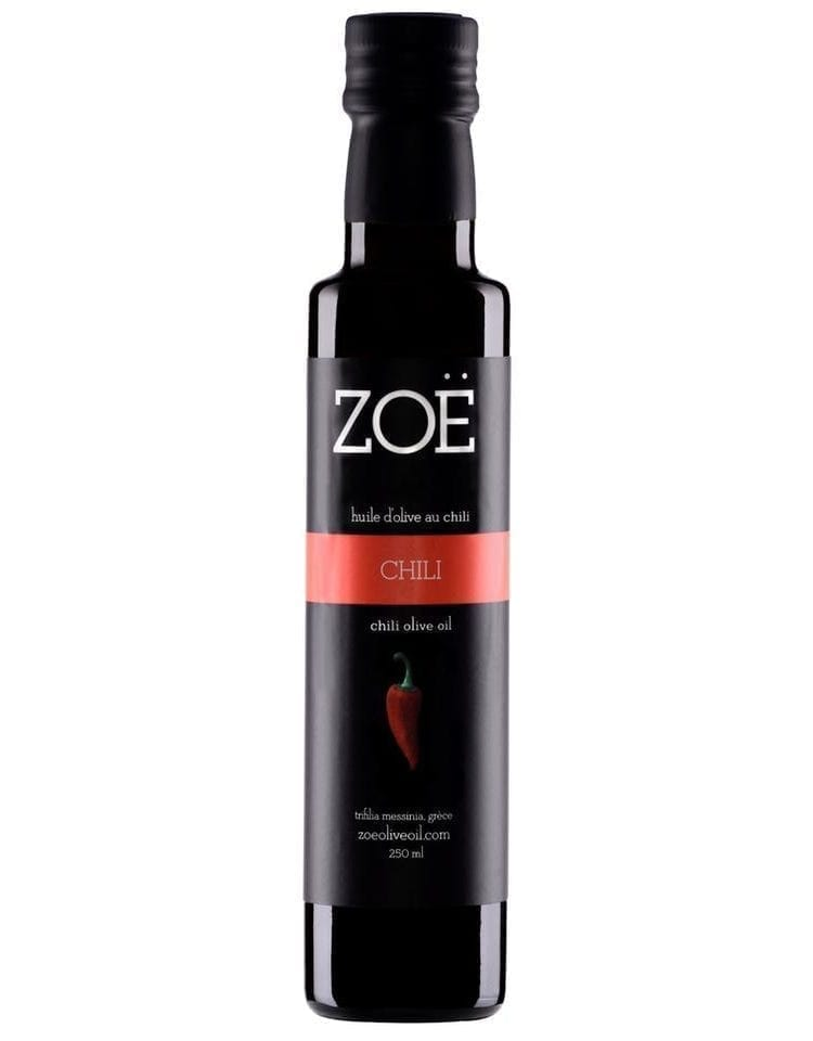 ZOE HUILE D'OLIVE INFUSÉE AU CHILI | ZOE OLIVE OIL CHILI INFUSED OIL