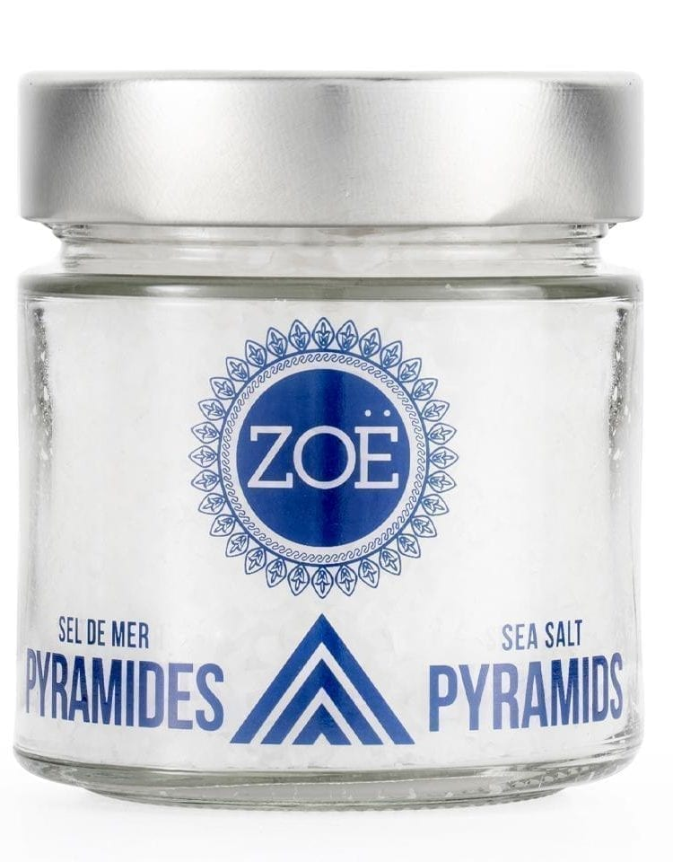 ZOE SEL DE MER PYRAMIDES - PYRAMID SEA SALT FROM ZOE