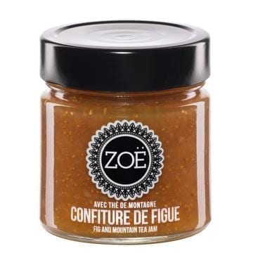 ZOE CONFITURE DE FIGUE AVEC THE DE MONTAGNE | FIG AND MOUNTAIN TEA JAM