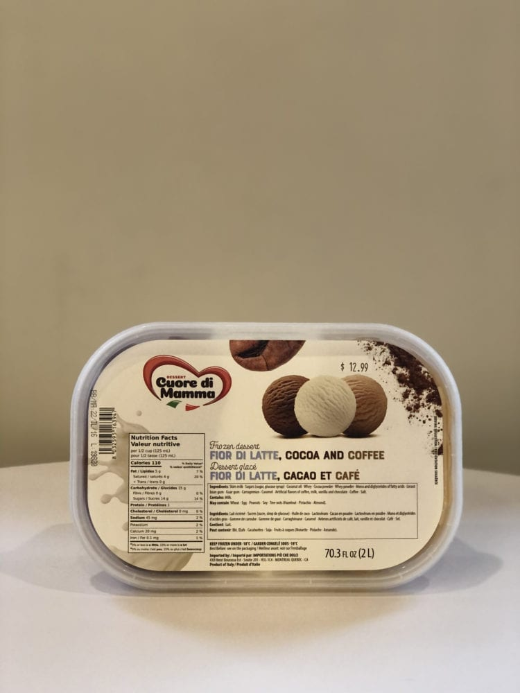 FIOR DI LATTE, COCOA, AND COFFEE 2L - CUORE DI MAMMA