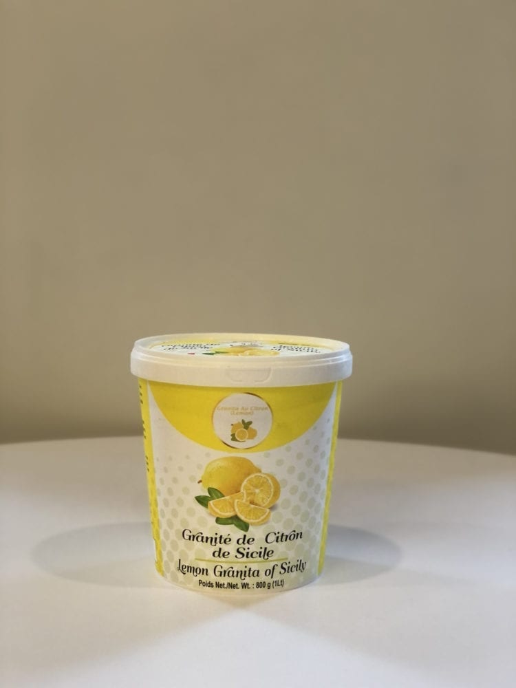 LEMON GRANITA OF SICILY - 1L
