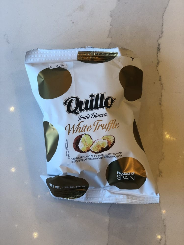 WHITE TRUFFLE CHIPS - QUILLO - 45G