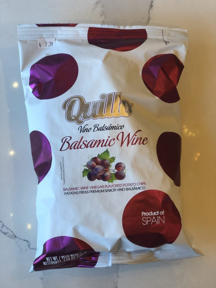 BALSAMIC WINE CHIPS - QUILLO - 130G